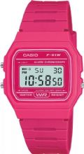 Iconic Casio Design Timepiece F-91WC-4AEF Pink Resin Case & Strap